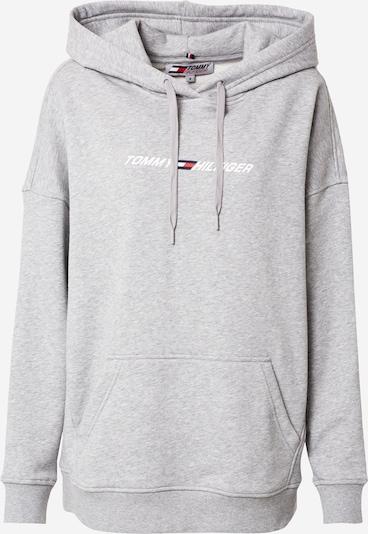 Tommy Sport Sportsweatshirt in hellgrau / weiß, Produktansicht