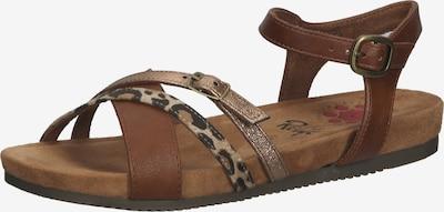 Relife Sandale in beige / braun / dunkelbraun, Produktansicht