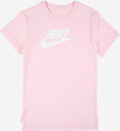 Nike Sportswear Тениска в светлорозово / бяло, Преглед на продукта
