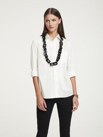 heine Hemdbluse in Weiß