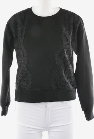 MAX&Co. Sweatshirt & Zip-Up Hoodie in XS in Black