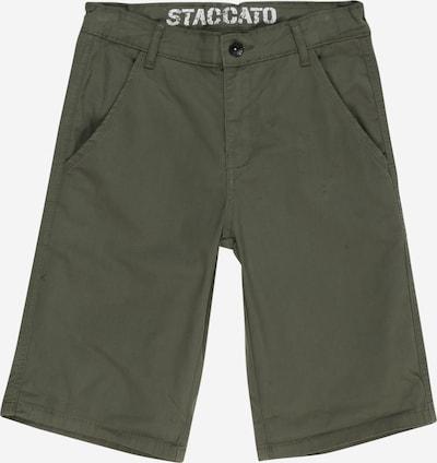 STACCATO Pantalon en olive, Vue avec produit