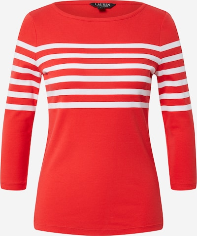 Lauren Ralph Lauren T-shirt 'HALIAN' en rouge / blanc, Vue avec produit