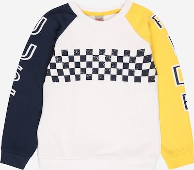 tengerészkék / sárga / fehér KANZ Tréning póló, Termék nézet