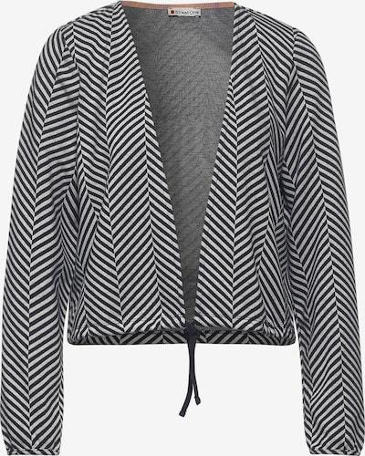 STREET ONE Jacke in grau / weiß, Produktansicht