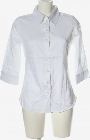 BASE Langarmhemd in M in weiß, Produktansicht