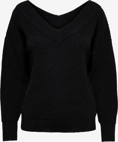 ONLY Jersey 'MELTON' en negro, Vista del producto