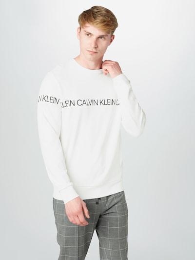 Calvin Klein Performance Bluzka sportowa w kolorze białym: Widok z przodu