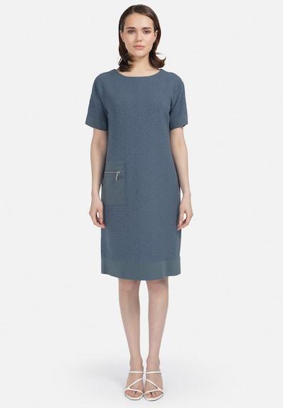 HELMIDGE Midi-Kleid in blau, Modelansicht