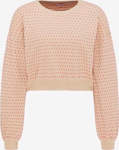 MYMO Pullover in beige / pink, Produktansicht