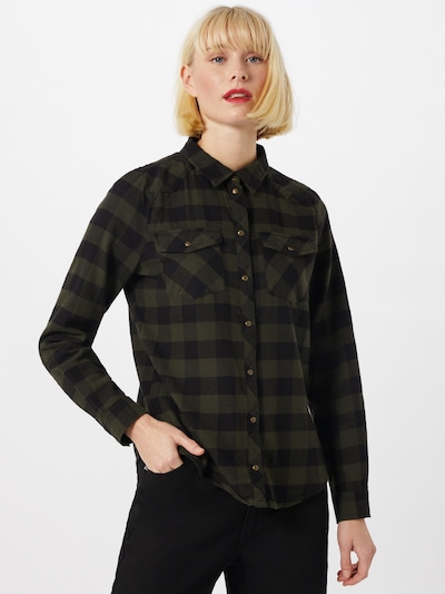 ONLY Blouse 'Rock It' in olive / black, View model