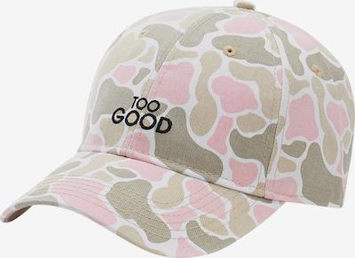 Cayler & Sons Gorra 'Good' en arena / marrón claro / oliva / rosa claro, Vista del producto