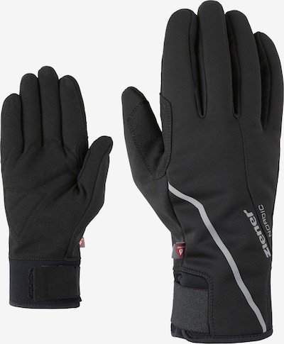 ZIENER Langlaufhandschuhe in schwarz, Produktansicht