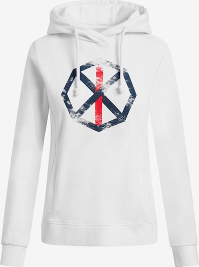 Shirts for Life Sweatshirt 'Leonie Spinnrad' in weiß, Produktansicht