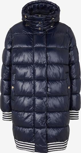 JOOP! Winterjacke 'Odelle' in dunkelblau / weiß, Produktansicht