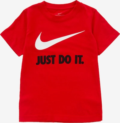 NIKE T-Shirt fonctionnel en rouge / noir / blanc, Vue avec produit