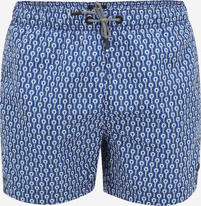 Superdry Shorts de bain 'Studios' en bleu / bleu foncé / blanc, Vue avec produit