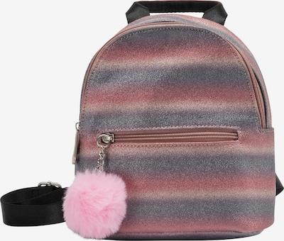 myMo KIDS Sac à dos en bleu violet / poudre / rose clair / rose foncé, Vue avec produit