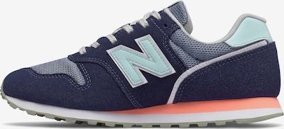 new balance Sneaker in navy / hellblau / weiß, Produktansicht