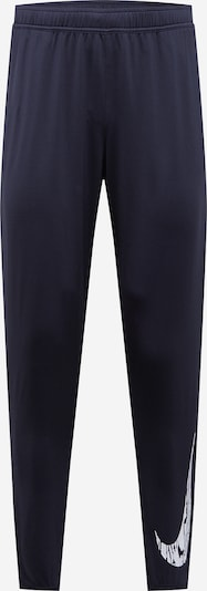 NIKE Spodnie sportowe 'Wild Run' w kolorze czarny / białym, Podgląd produktu