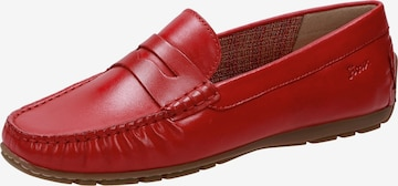 SIOUX Moccasins in Red