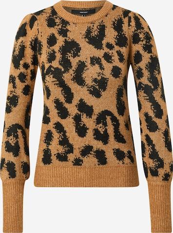 VERO MODA Sweater 'TARI' in Brown