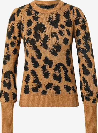 VERO MODA Pullover 'TARI' in cognac / schwarz, Produktansicht