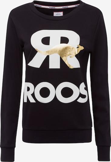 KangaROOS Sweatshirt in gold / schwarz / weiß, Produktansicht
