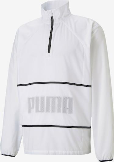 Džemperis treniruotėms iš PUMA, spalva – rausvai pilka / juoda / balta, Prekių apžvalga