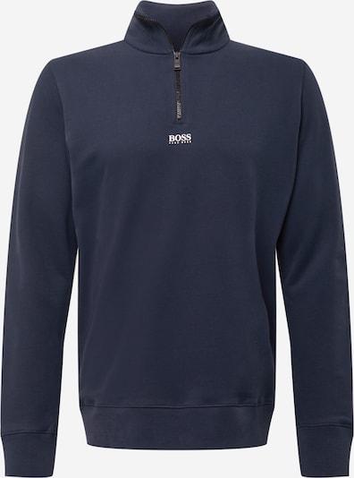 BOSS Casual Mikina 'Zapper 2' - tmavě modrá / bílá, Produkt