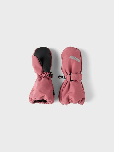NAME IT Gants en rose, Vue avec produit