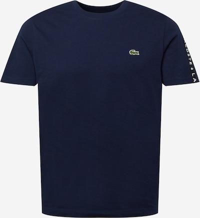 LACOSTE T-shirt i marinblå / svart / vit, Produktvy