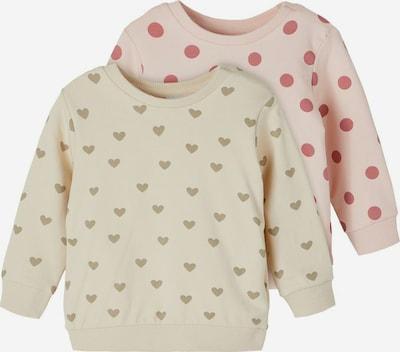 Megztinis be užsegimo 'Tinne' iš NAME IT, spalva – smėlio spalva / tamsi smėlio / rožių spalva / pitajų spalva, Prekių apžvalga