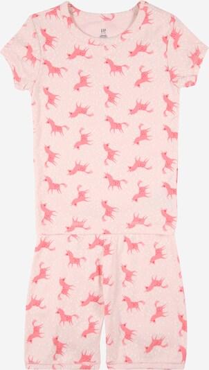 GAP Nachtkledij in de kleur Pink / Rosé / Lichtrood / Wit, Productweergave