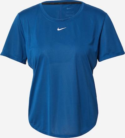 Tricou funcțional NIKE pe albastru / alb, Vizualizare produs
