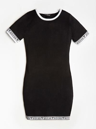 GUESS KIDS Kleid in schwarz: Frontalansicht