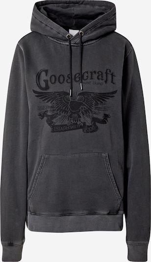 Goosecraft Sweater majica 'MW wings' u crna, Pregled proizvoda
