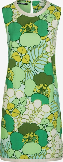 Ana Alcazar Jurk in de kleur Geel / Groen, Productweergave