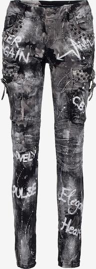 CIPO & BAXX Jeanshose 'WD397' in schwarz, Produktansicht