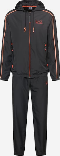 EA7 Emporio Armani Trainingspak '6KPV01 PN4HZ' in de kleur Sinaasappel / Zwart, Productweergave