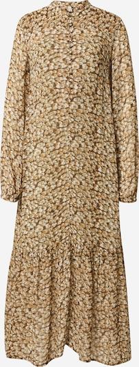 PULZ Jeans Shirt dress 'CORNELIA' in Brown / Cognac / Light brown / Pastel green / White, Item view
