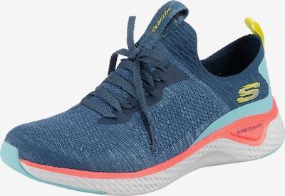 SKECHERS Sneaker 'SOLAR FUSE' in hellblau / blaumeliert / gelb / hellpink, Produktansicht