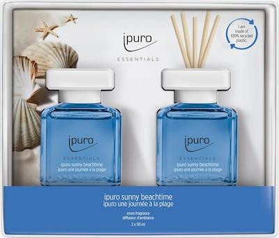ipuro Raumduft 'Sunny Beachtime' in blau / weiß, Produktansicht
