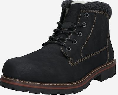 RIEKER Šněrovací boty - černá, Produkt