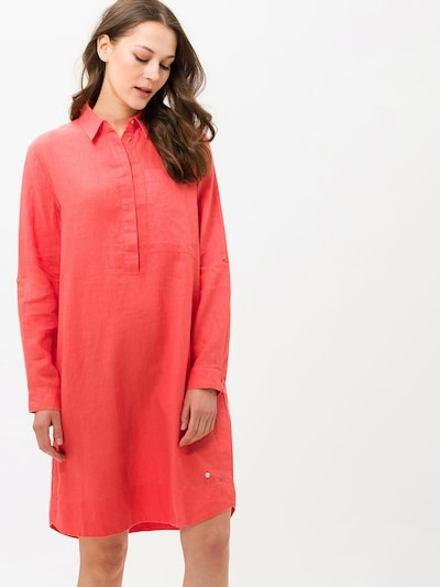 BRAX Blousejurk 'Gillian' in de kleur Koraal, Modelweergave