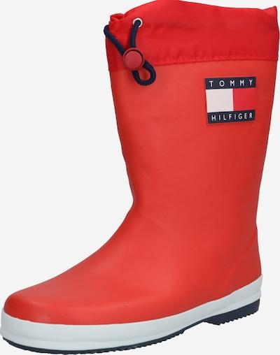 Guminiai batai iš TOMMY HILFIGER , spalva - tamsiai mėlyna / raudona / balta, Prekių apžvalga