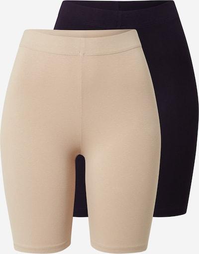 Gina Tricot Leggings in nude / schwarz, Produktansicht