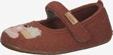 Living Kitzbühel Slippers in Brown