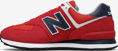 new balance Sneaker in blau / rot, Produktansicht