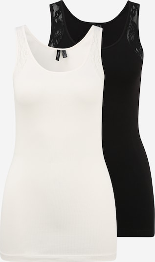 Vero Moda Tall Top in Black / natural white, Item view